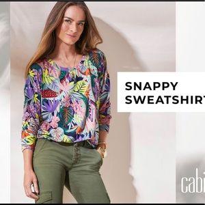 CAbi Snappy sweatshirt